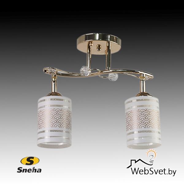 Люстры C лампами накаливания 2-х ламповые ООО Айтин-Про .